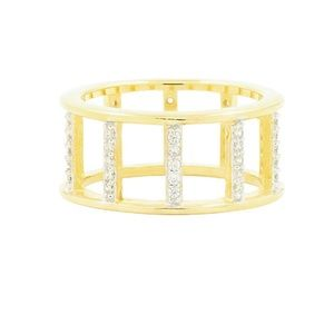 Frieda Rothman Radiance Open Wide Band Ring